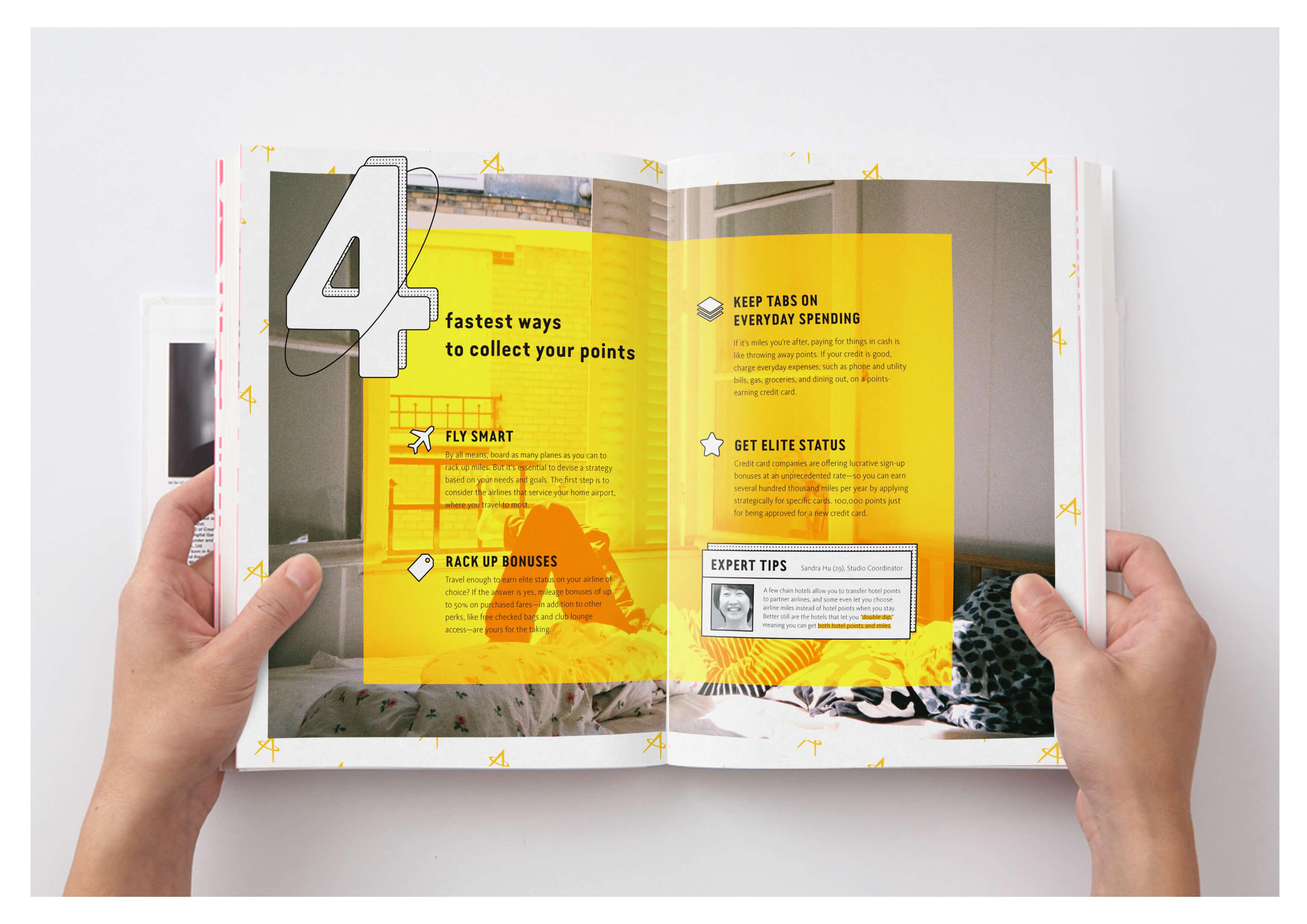 Asia Miles: PEBBO service design and branding design project